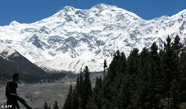 """Nanga Parbat, Pakistan's second-highest peak, known as the """"Killer Mountain"""" due to the number of people who have died on its slopes"""
