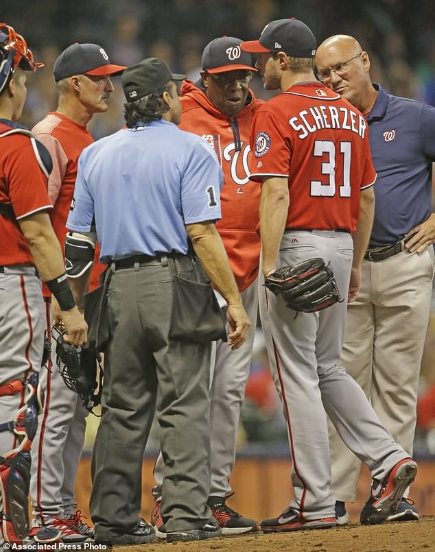 Turner's Double Caps Nats' 3 2 Comeback Win Over Brewers Daily