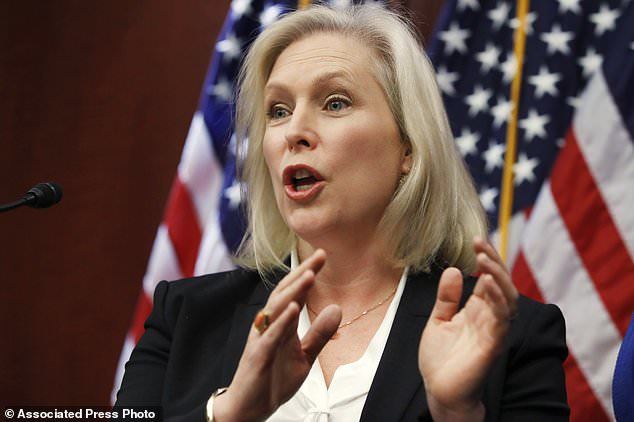 Sen. Kirsten Gillibrand was among a group of female senators who called on Al Franken to resign from the Senate