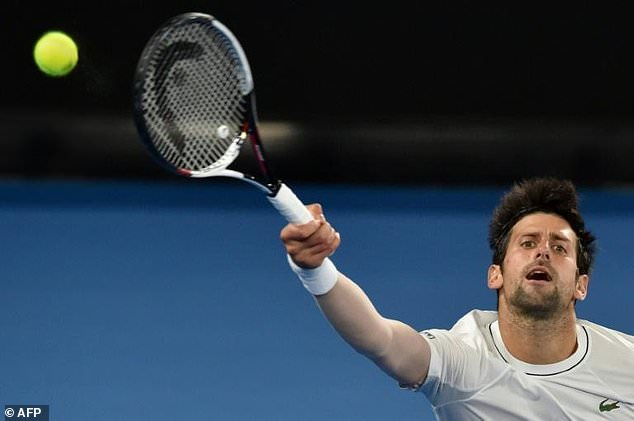 Novak Djokovic has been out of action for six months, and while he enjoyed his first real break since turning professional, he said he is ready to get back to business