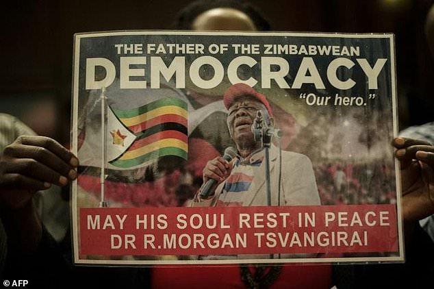 Morgan Tsvangirai was the fiercest opponent to Robert Mugabe's 37-year tyrannical rule