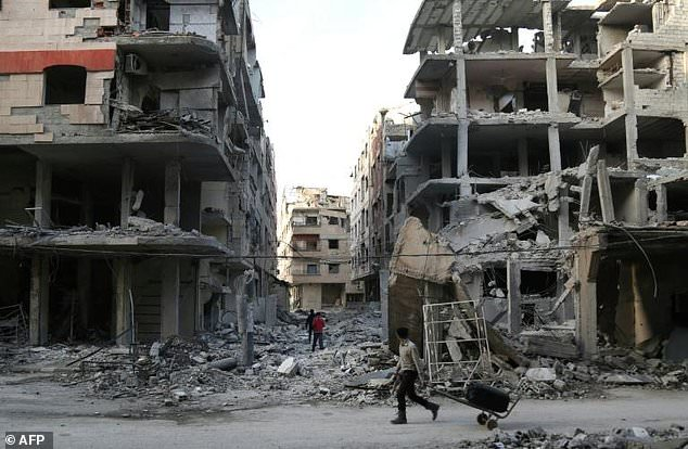 The 400,000 residents of the rebel-held suburb of Eastern Ghouta near Damascus have lived under regime siege since 2013
