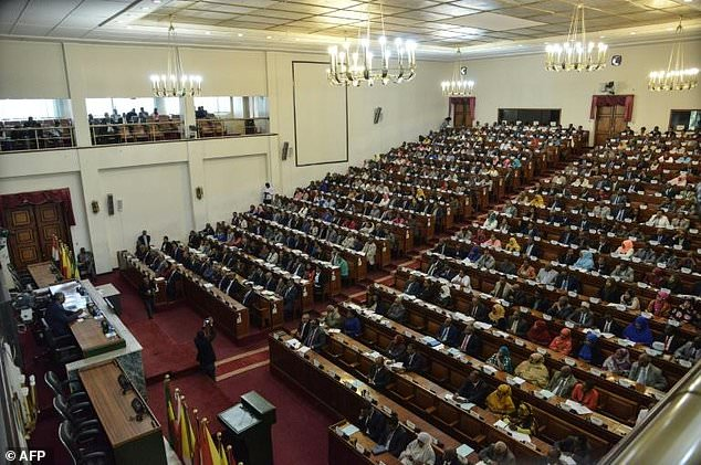 Members of parliament approved Ethiopia's state of emergency on March 2  in Addis Ababa. The  governing coalition is facing an unprecedented tussle behind closed doors as it seeks a new prime minister after Hailemariam Desalegn's shock resignation