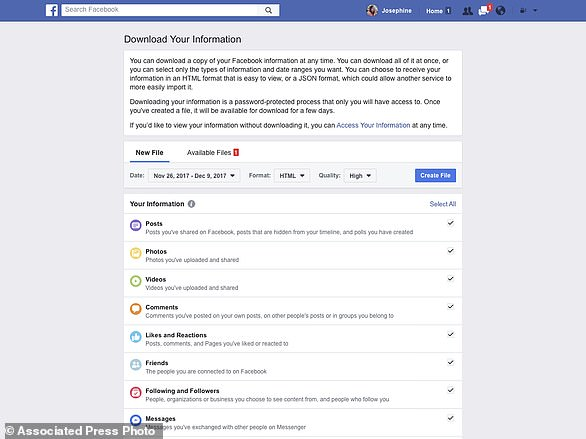 Among the changes, Facebook is making data settings and tools easier to find, is introducing a new privacy shortcuts menu, and is adding tools to find, download and delete your Facebook data