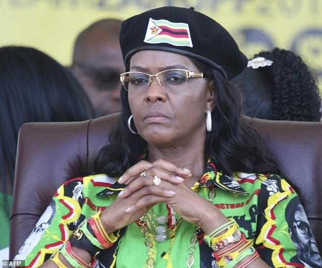 Grace Mugabe, the wife of Zimbabwe's former president Robert, has been accused of smuggling ivory worth millions to underground foreign markets