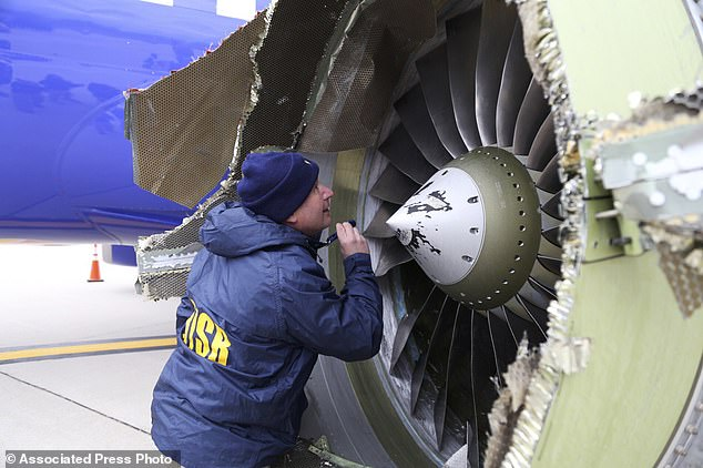 Fan Blade Inuries : Faa orders fan blade inspections after jet engine… angle