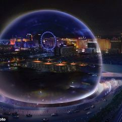 High Chair Amazon Zero Gravity Office Uk High-tech, Sphere-shaped Arena With 170,000- Square-foot Led Screen Is Coming To The Las Vegas ...