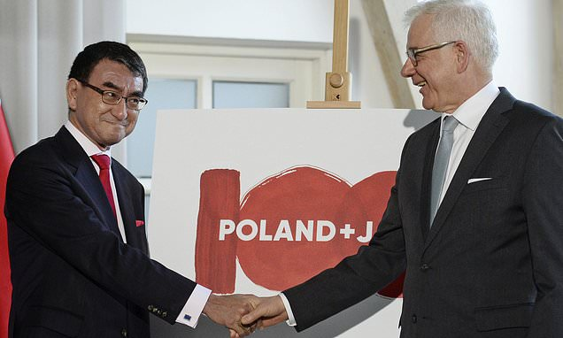 Japan, Poland's foreign ministers discuss security ...