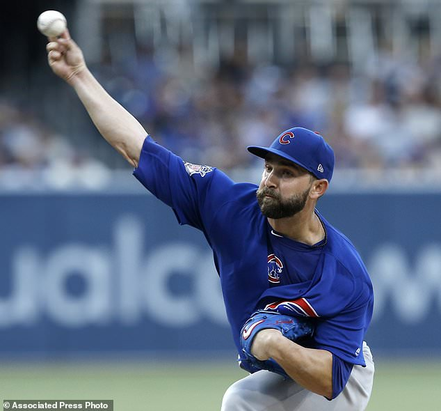 wire 3645120 1531547666 442 634x590 - Rizzo, Baez come up big late to give Cubs 5-4 win vs...