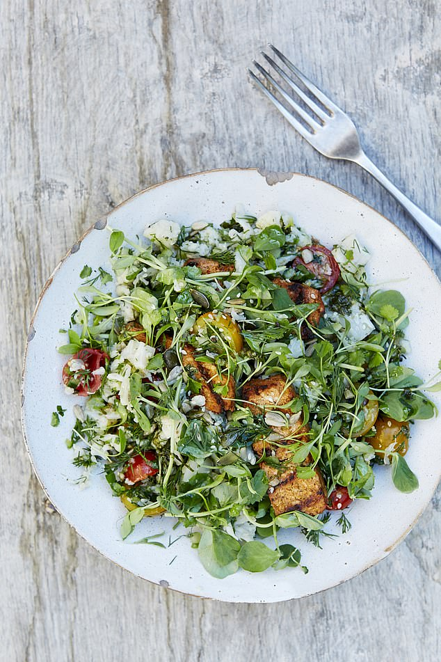 Delicious, good-for-you and ready made…this salad is one of the options devised by Jennifer Irvine