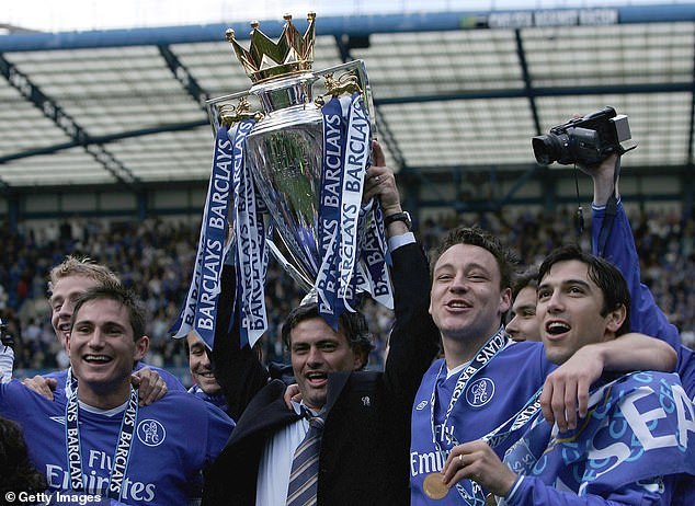 Terry won the Premier League five times and the Champions League once at Stamford Bridge