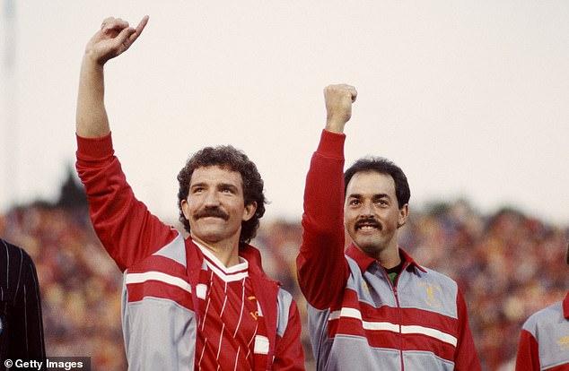 Grobbelaar (right) didn't think much of former team-mate Graeme Souness' management