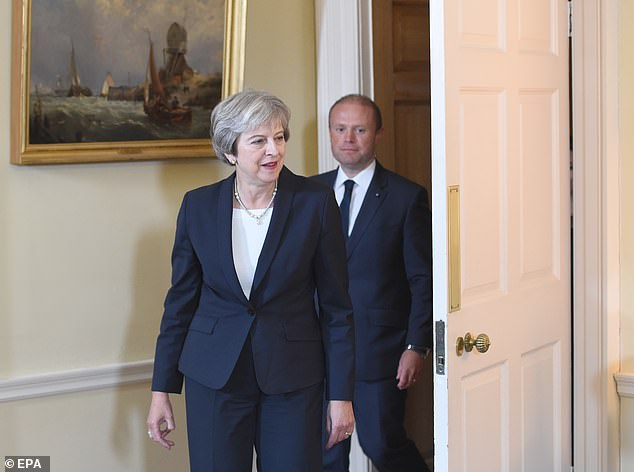 Theresa May was pictured yesterday with Maltese Prime Minister Joseph Muscat.The new money – which will become available in 2022 – is an attempt to send a signal to housing associations that they can build homes with the confidence Government funding will continue in the long term