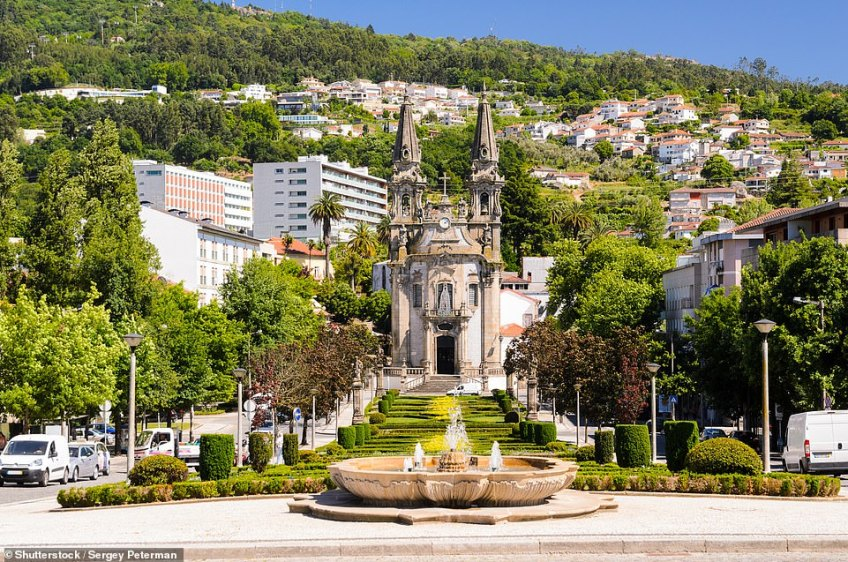The second hardest-to-pronounce city in the world isGuimaraes, pictured, in Portugal