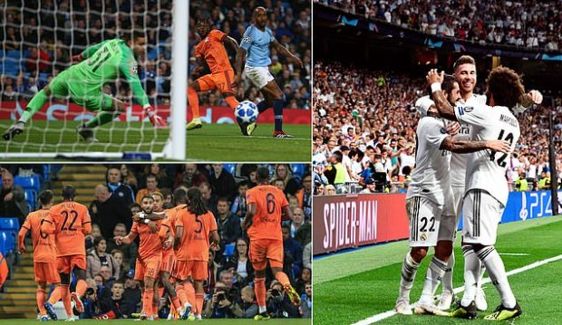 Man City vs Lyon LIVE plus Real Madrid vs Roma - Champions League