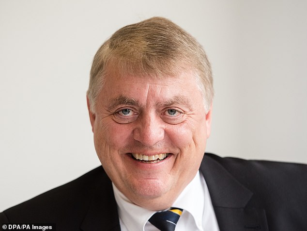Golden hello: Royal Mail's new chief executive Rico Back, 64, will receive almost £6m