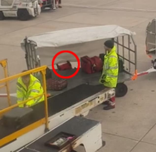 A spokesman for Swissport apologised to passengers and confirmed it was investigating