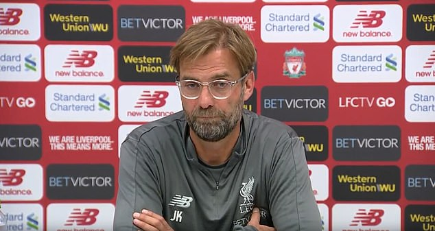 Jurgen Klopp insists there is nothing to worry about over Mohamed Salah's disappointing start