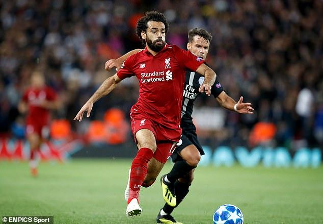 Salah scored 44 goals in 52 games last season but has struggled to produce similar form