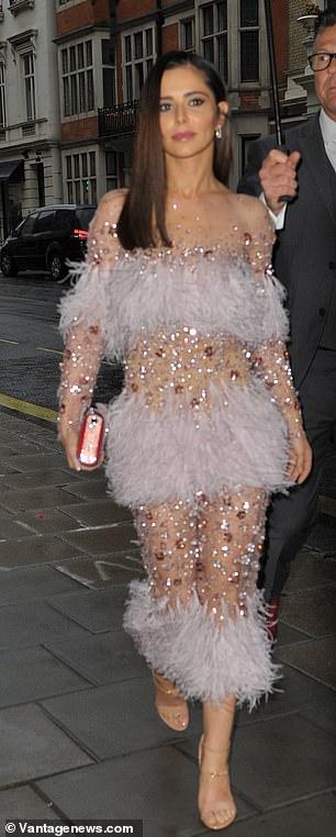 Glam: Cheryl sah sensationell aus