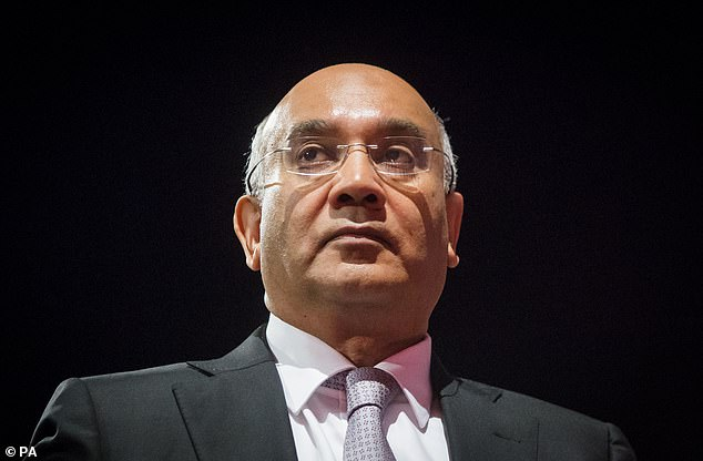 Keith Vaz (pictured) said: 'I fear that officials at PHE are too timid to tackle this obesity crisis. Because of political sensitivities, we have avoided highlighting this critical issue.'