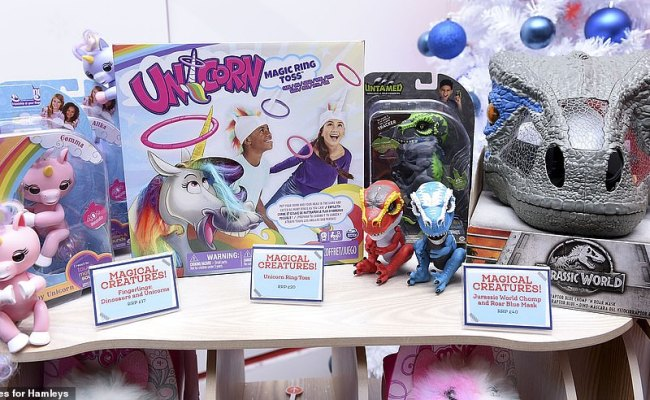 Hamleys Reveal Their Top 12 Christmas Toys Daily Mail Online