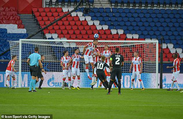Neymar put PSG 1-0 ahead thanks to a delightful free-kick into the top left corner