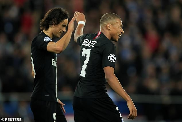 The 19-year-old Mbappe has now scored 12 goals in 16 Champions League starts in his career