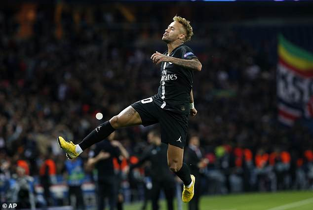 Neymar stole the show with a fantastic hat-trick in PSG's 6-1 rout of Red Star Belgrade