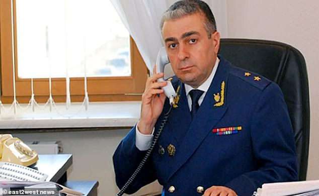Deputy prosecutor-general Saak Karapetyan - a former MP and long-time ally of President Vladimir Putin - died in a helicopter crash