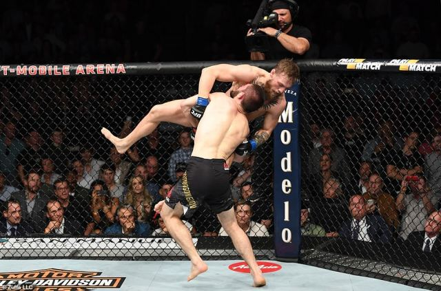 Irishman McGregor had no answer toNurmagomedov's grappling approach as he was taken down round after round