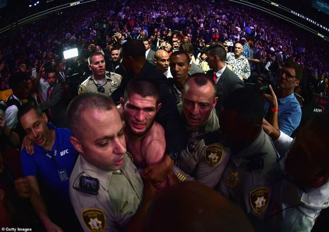 If there were any doubts about the ill-feeling between the pair, the post-fight melee showed how personal this bout became