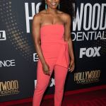 Angela Bassett's Style in Beverly Hill