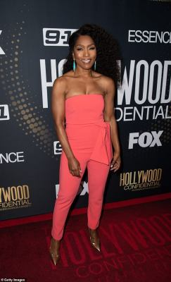Gorgeous:Angela Bassett, 60, looked amazing, as usual, as she appeared for a Q&A event in Beverly Hills on Monday at the Saban Theater
