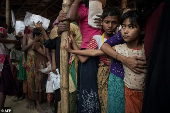 The biggest refugee camp in the world is rigidly controlled by Bangladesh authorities
