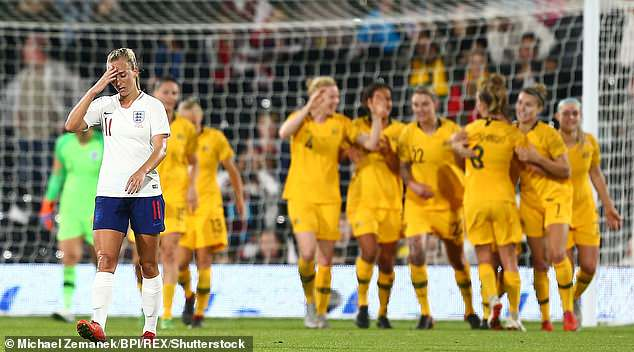 England are unable to follow victory with Brazil by beating sixth-ranked Australia