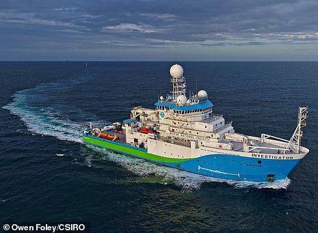 The lost world was uncovered during detailed seafloor mapping by CSIRO research vessel Investigator while on a 25-day research voyage led by scientists from the Australian National University (ANU).