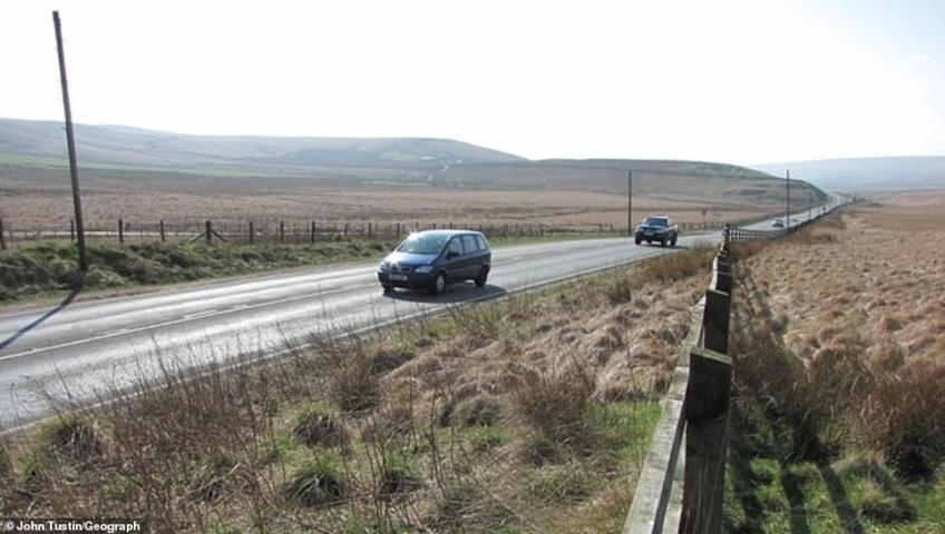 Sneaking into the top ten in 10th place is the A675 between Bolton and Blackburn in Lancashire, pictured
