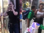 A woman caused a scene outside a Brooklyn bodega when she called police to report that a nine-year-old boy had 'grabbed her a**'. A video of the incident has gone viral on Facebook