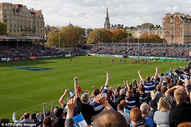 Bath supporters had also celebrated early as Burns ran over the try line and looked set to score