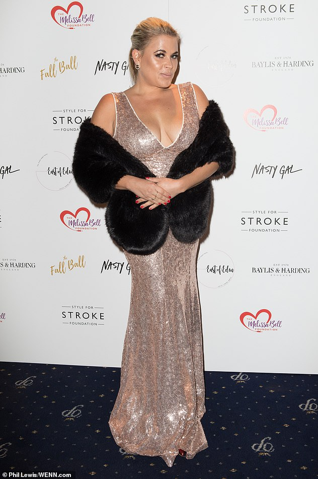Star-studded arrivals: Also in attendance at the event was Celebs Go Dating star Nadia Essex