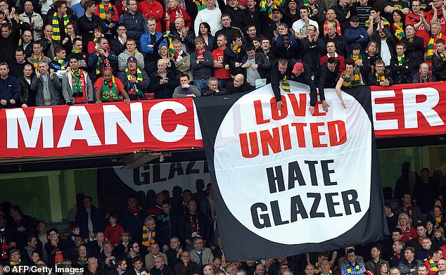 The Glazers are not universally loved by Man United fans and investment may be welcomed