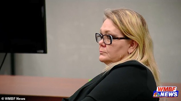 Tammy Moorer From South Carolina Pictured Monday During Her Trial At Horry County Court