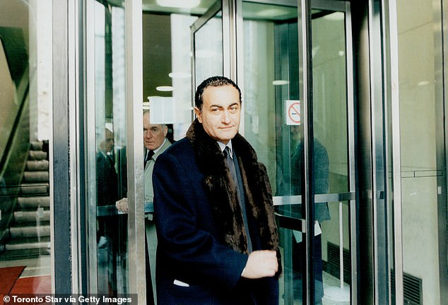 Dodi Fayed ion Canada in the late 90s - before he and Princess Diana were killed in a car crash