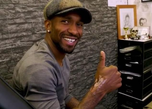 Jermain Defoe has had his special friendship with Bradley Lowery marked on him forever