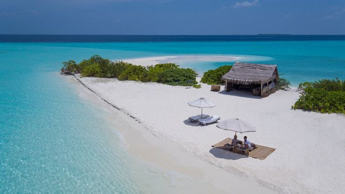 The incredible resort of Soneva Fushi, hidden among dense foliage within the Baa Atoll Unesco Biosphere Reserve, is the first accommodation on the Maldives leg, the final one