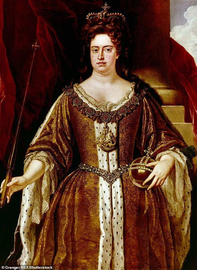 Storytelling:The Favourite sets the stage in early 18th century when a frail Queen Anne (pictured) is on the throne and her close friend Lady Sarah watches over the country