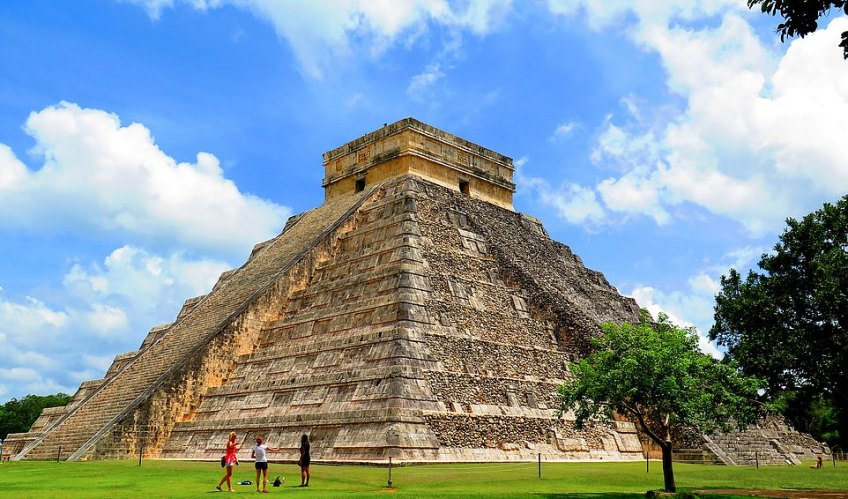Tourists visiting the Mayan ruins of Chichen Itza in Mexico, pictured, often complain about the long lines and scorching midday heat. But a small early morning tour is available on TripAdvisor