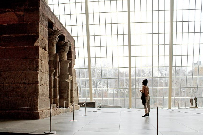 TripAdvisor offers a tour around New York's Metropolitan Museum of Art, pictured, which starts an hour and a half before its doors open to the public in a group of no more than 25 people