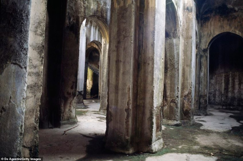 On an eight-day guided tour of southern Italy, Andante Travels offers a trip to the cavernous Piscina Mirabilis at Misenum, which is usually closed to the public
